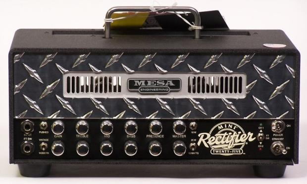 Rectifier Amp Head Guitar Amp Head Silver