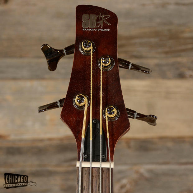 Ibanez Bass Natural Wood Used Reverb Com