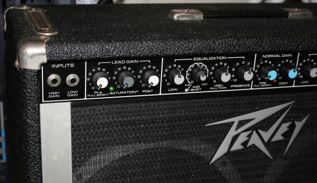 loud peavey renown 400 2x12 vintage amp combo scorpion speakers reverb. Black Bedroom Furniture Sets. Home Design Ideas