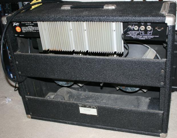 Loud Peavey Renown 400 2x12 Vintage Amp Combo Scorpion