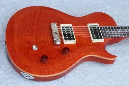 Prs se Singlecut Guitar Prs Singlecut Orange se Solid