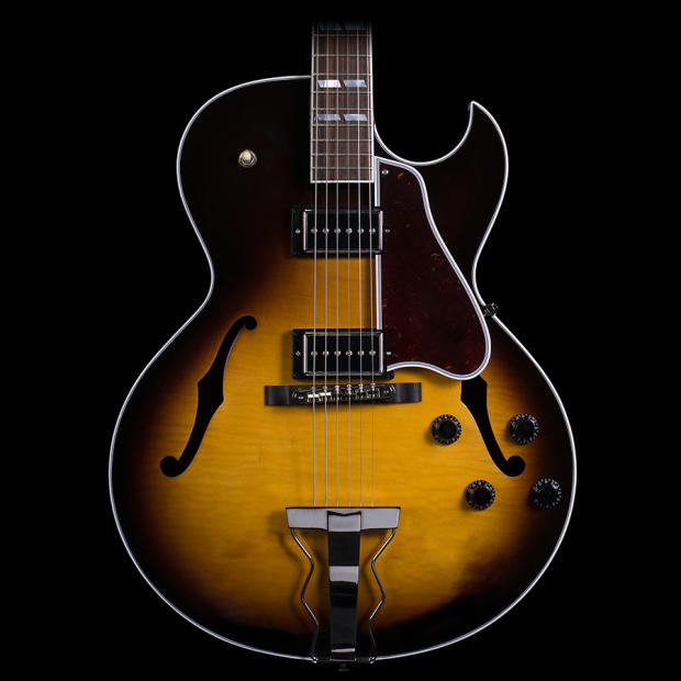 Gibson Hollow Body Sunburst Gibson Es-175 Hollow Body