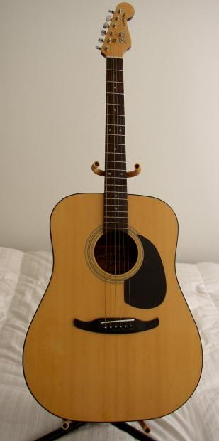 fender acoustic w fender headstock concord natural a kool guitar reverb. Black Bedroom Furniture Sets. Home Design Ideas