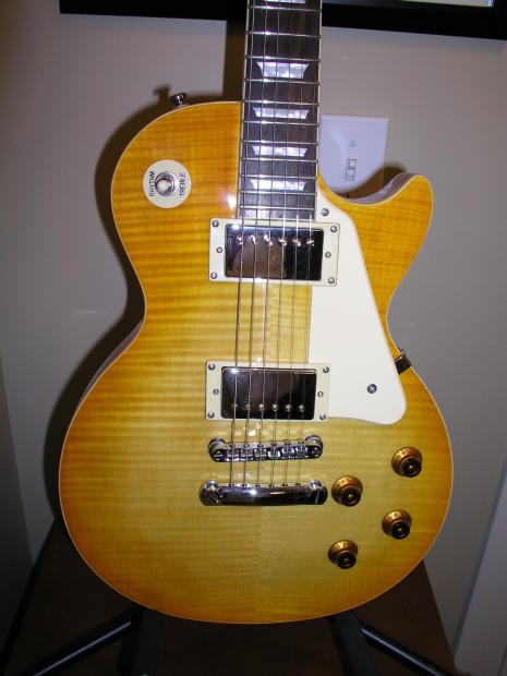 Epiphone Les Paul Standard 2000 Limited Edition Amber