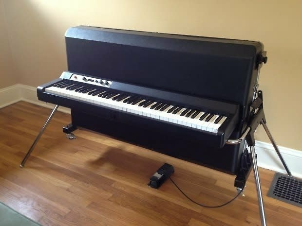 vintage kawai ep 608 1980 black electric piano reverb. Black Bedroom Furniture Sets. Home Design Ideas