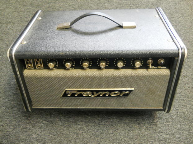 Here vintage traynor amplifiers too happens:)