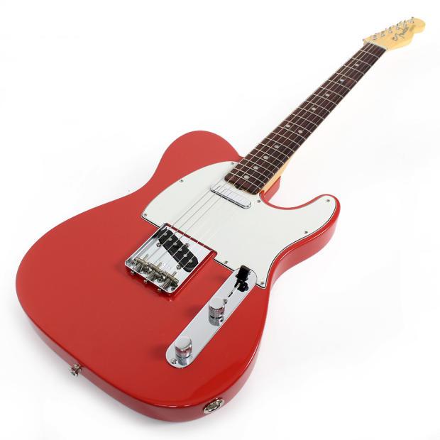 fender american vintage limited edition 39 64 telecaster electric guitar in fiesta red reverb. Black Bedroom Furniture Sets. Home Design Ideas