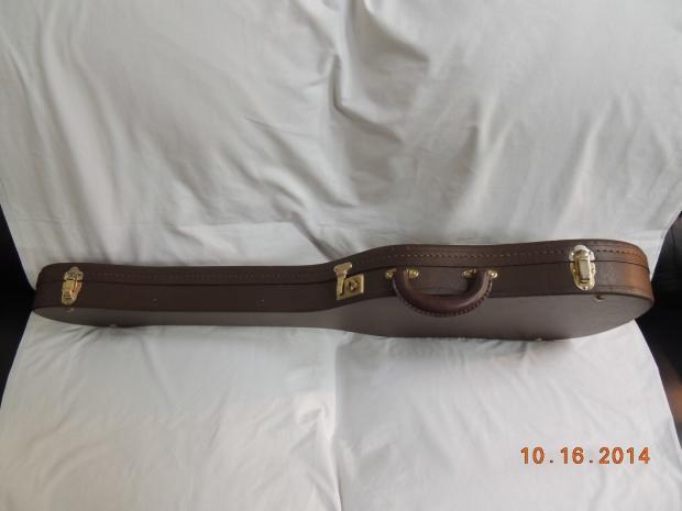 g g thermometer telecaster electric guitar case brown vintage fender reverb. Black Bedroom Furniture Sets. Home Design Ideas