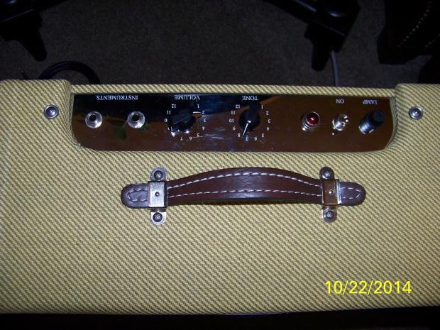 Swaptronics Big Box Tweed Princeton 5f2a Amp With 1962 Cts