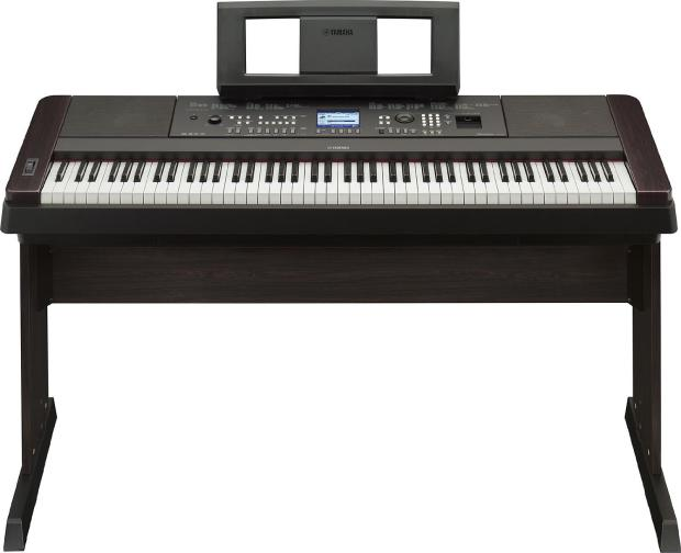 yamaha dgx 650b 88 weighted key digital piano black w bench and pedal bundle reverb. Black Bedroom Furniture Sets. Home Design Ideas