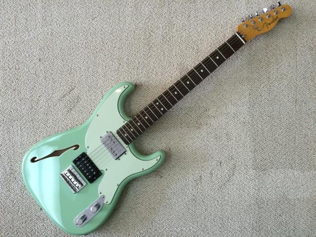 Fender Pawn Shop 72 Green Fender Pawn Shop Fender '72