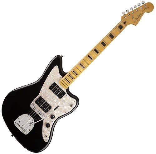 fender modern player hh jazzmaster electric guitar maple fingerboard black reverb. Black Bedroom Furniture Sets. Home Design Ideas