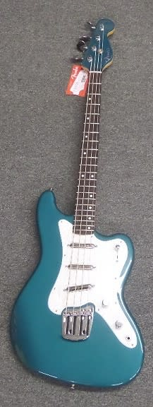Fender classic player rascal bass ocean turquoise guitar for Classic house bass lines