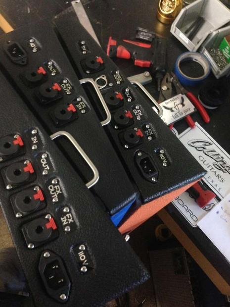 Pedalboard Parts I O Jacks Guitar In Out Fx Loop