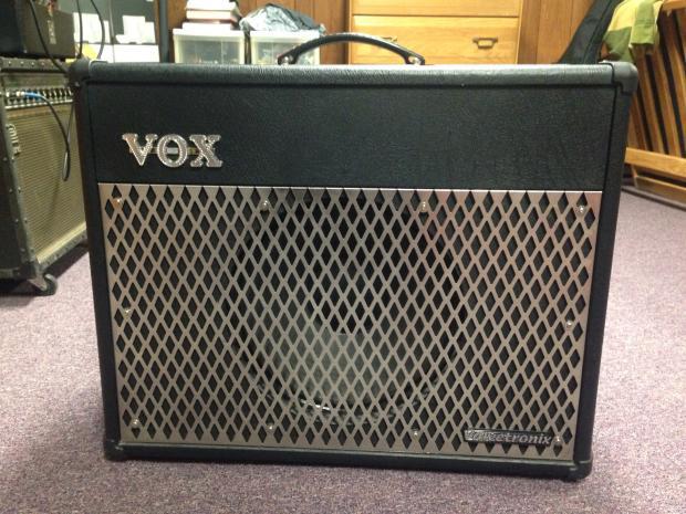 vox valvetronix vt50 2011 black reverb. Black Bedroom Furniture Sets. Home Design Ideas