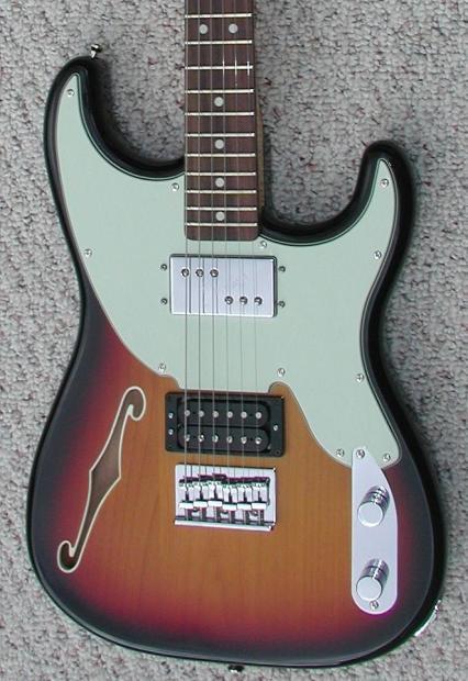 Fender Pawn Shop 72 Green Fender Pawn Shop '72
