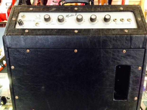 Rare Vintage Paris Guitar Amp 60's Master II 1970's Black ...