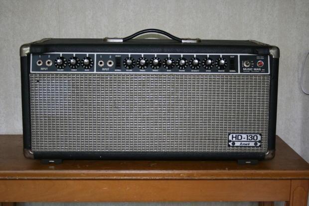 Musicman hd 130 Amp Head Music Man hd 130 Vintage Amp