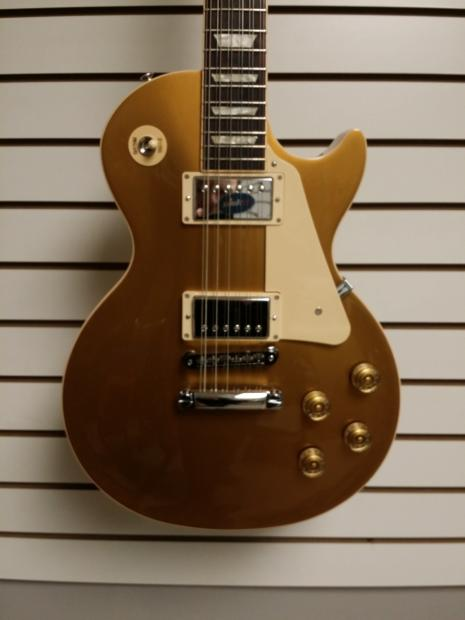 gibson les paul traditional gold top 12 string gold top reverb. Black Bedroom Furniture Sets. Home Design Ideas