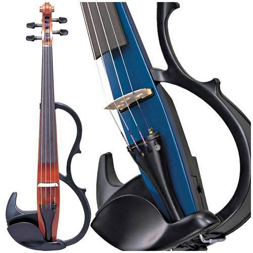 Yamaha sv200 silent electric violin black reverb for Yamaha electric violin
