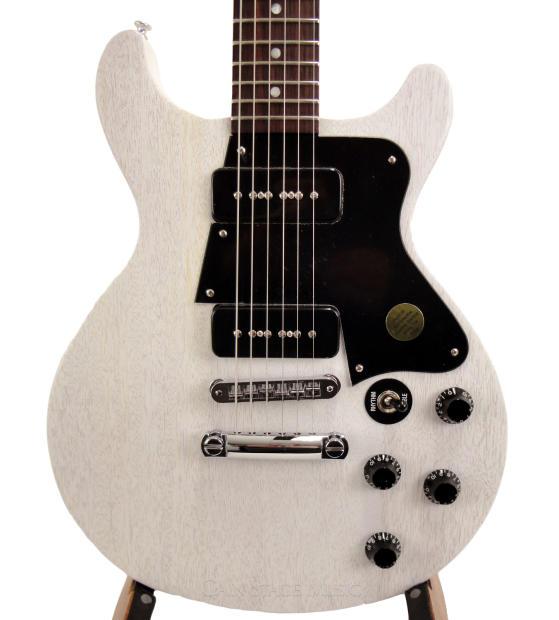 gibson les paul special guitar double cut 2003 dealer exclusive p90 white reverb. Black Bedroom Furniture Sets. Home Design Ideas