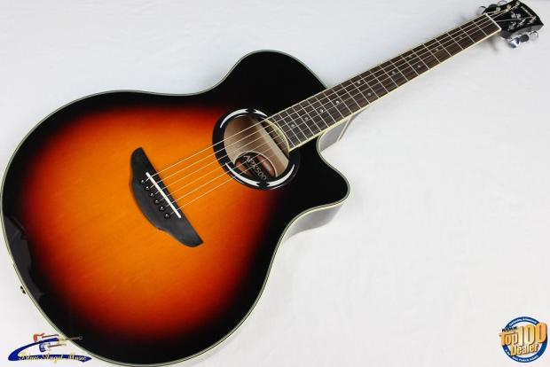 yamaha apx500iii acoustic electric guitar vintage sunburst brand new 27471 reverb. Black Bedroom Furniture Sets. Home Design Ideas