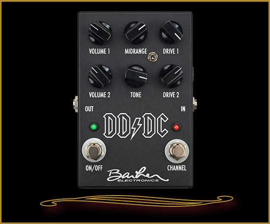 Barber Electronics : Barber Electronics Direct Drive Dual Channel Black Reverb