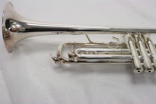 Yamaha ytr 8335s bb trumpet silver used reverb for Yamaha 6310z flugelhorn