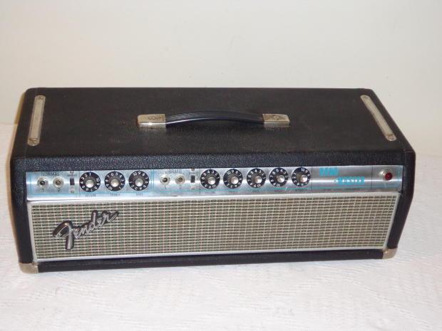 Fender Bandmaster Amp Head Fender Bandmaster Head 1968