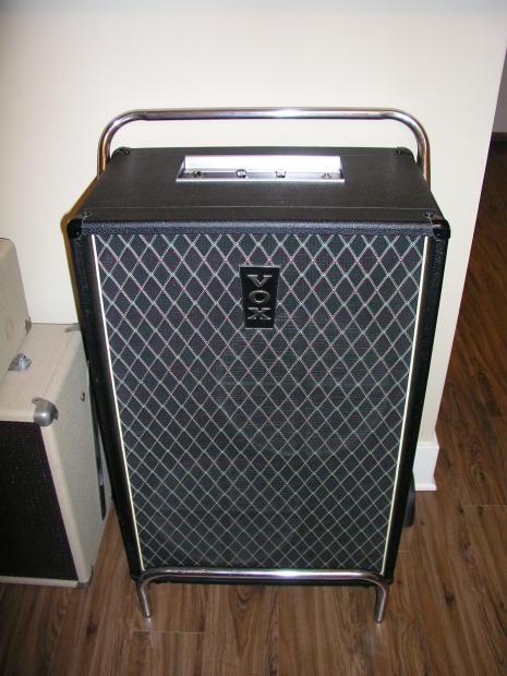 vox essex bass cabinet v1042 1967 black vox weave all. Black Bedroom Furniture Sets. Home Design Ideas