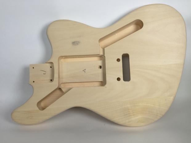 do it yourself diy electric guitar kit jaguar style electric guitar kit build your own reverb. Black Bedroom Furniture Sets. Home Design Ideas