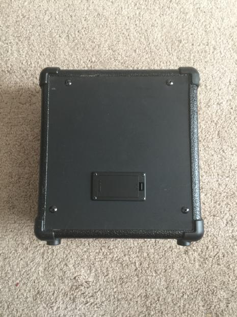 lyon la5 9v battery powered practice amp reverb. Black Bedroom Furniture Sets. Home Design Ideas
