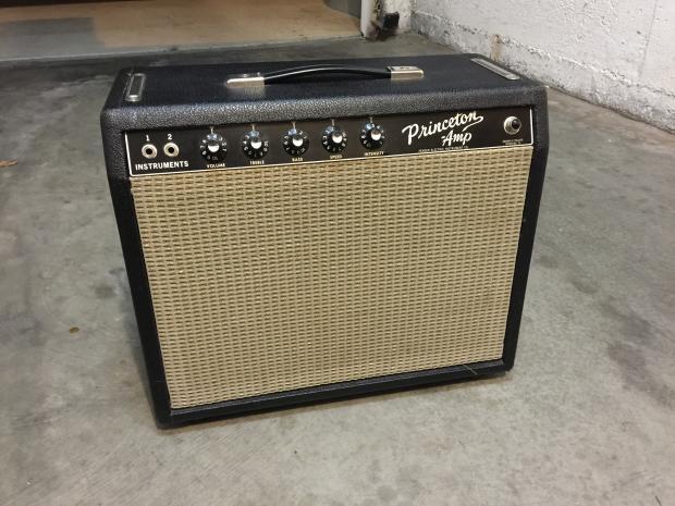 Fender Blackface Princeton Amp Pre Cbs Fender Princeton Amp