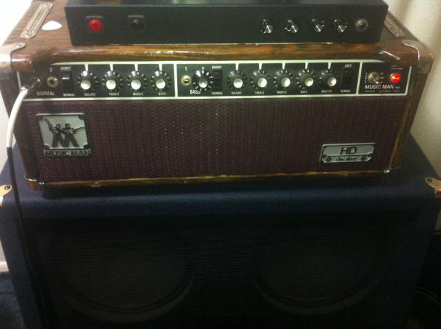 Musicman hd 130 Amp Head Musicman hd 130 1977 Tubed