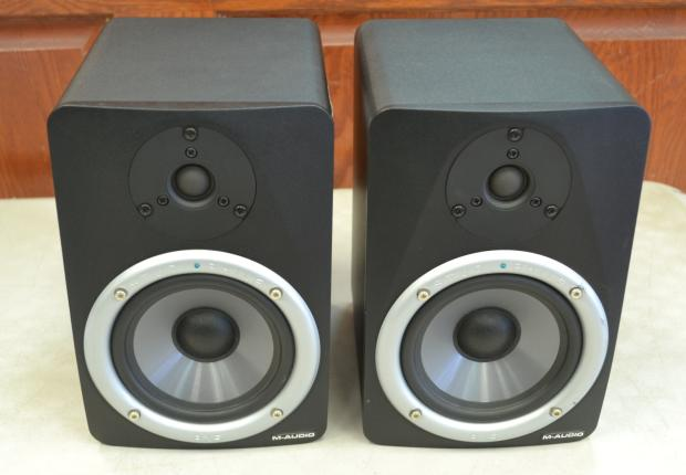 m audio studiophile bx5 powered studio monitor speakers pair reverb. Black Bedroom Furniture Sets. Home Design Ideas