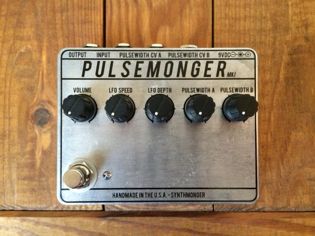 synthmonger pulsemonger fuzz synth pedal for guitar and bass reverb. Black Bedroom Furniture Sets. Home Design Ideas