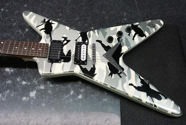dimebag darrell guitar camo - photo #28
