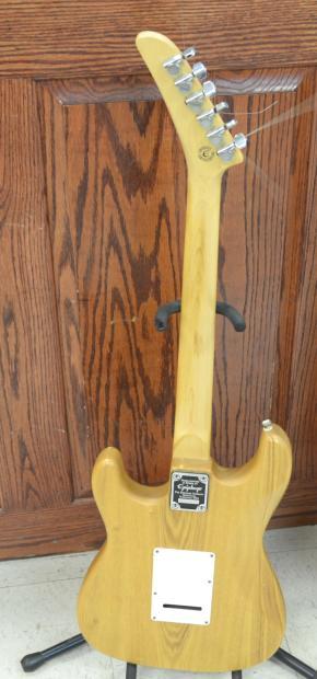 gibson epiphone stratocaster s 310 6 string electric guitar w tweed case korea 1994 natural. Black Bedroom Furniture Sets. Home Design Ideas