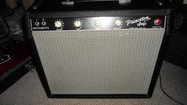 Fender Blackface Princeton Amp Fender Princeton Amp 1964