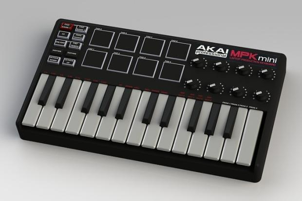 akai professional mpk mini 25 key ultra portable usb midi keyboard controller reverb. Black Bedroom Furniture Sets. Home Design Ideas