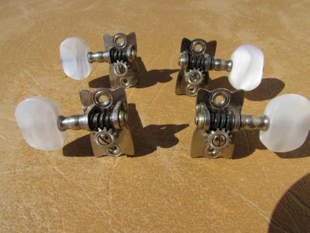 hofner 500 bass tuners chrome pearl set of four reverb. Black Bedroom Furniture Sets. Home Design Ideas