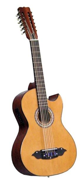 lucida traditional mexican style bajo sexto with electric pickup reverb. Black Bedroom Furniture Sets. Home Design Ideas