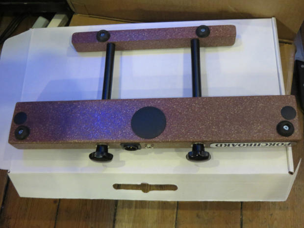 new porchboard floor bass guitar pedal original floor bass pedals reverb. Black Bedroom Furniture Sets. Home Design Ideas