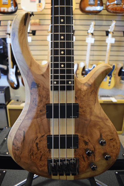 schecter riot 4 bass guitar burl maple top nos new old stock b stock save clearance. Black Bedroom Furniture Sets. Home Design Ideas