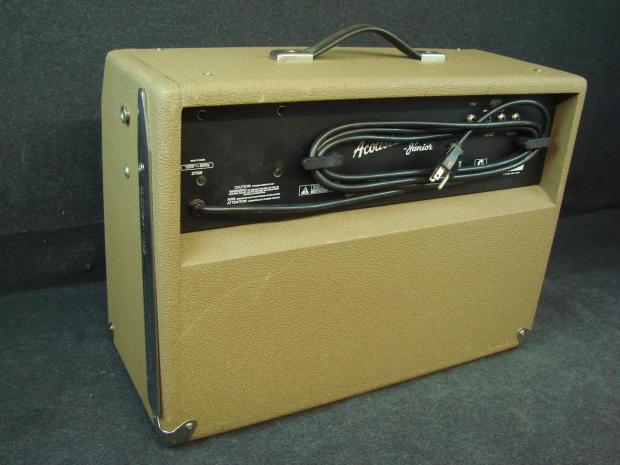 fender acoustasonic junior guitar amplifier 80 watts 2 8 speakers two channel reverb. Black Bedroom Furniture Sets. Home Design Ideas