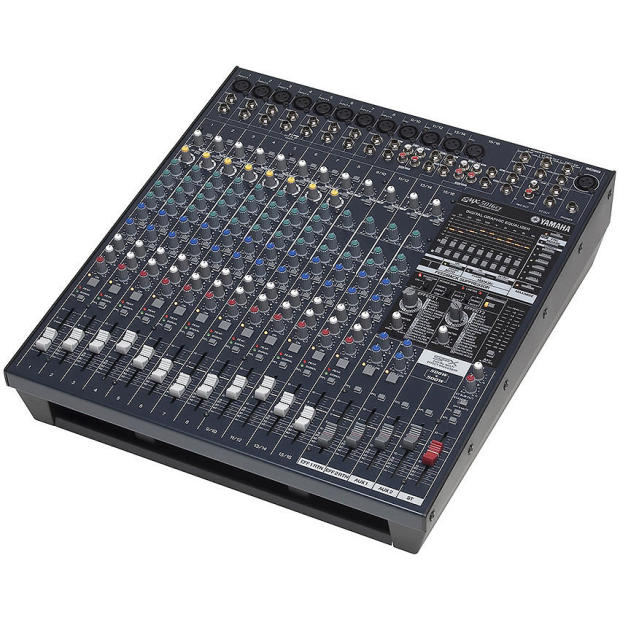 yamaha emx5016cf 16 input 12 channel powered mixer new in box reverb. Black Bedroom Furniture Sets. Home Design Ideas