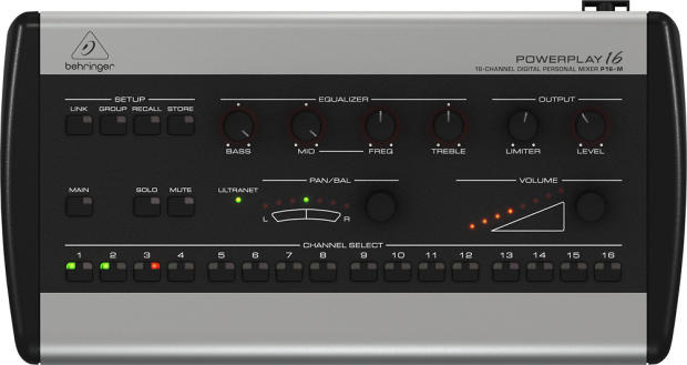 behringer powerplay p16 m personal mixer manual