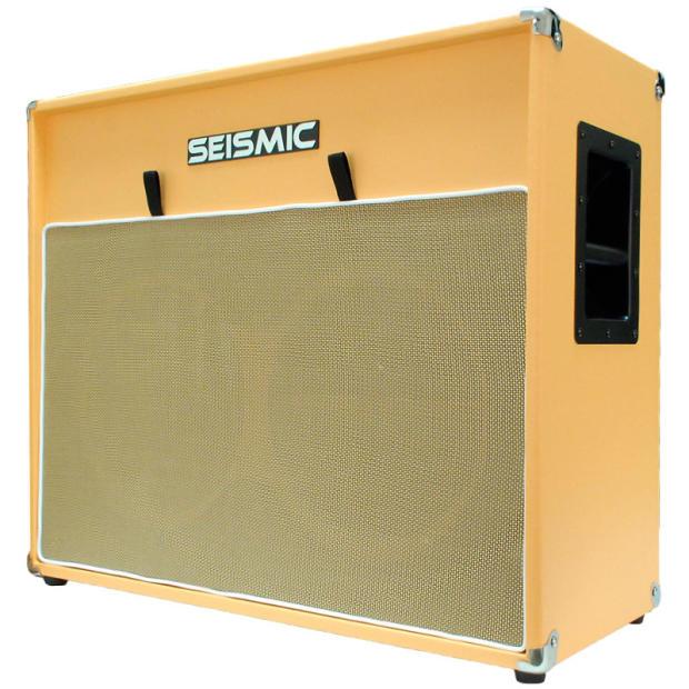 212 GUITAR SPEAKER CAB EMPTY Cabinet ORANGE TOLEX 2x12 Reverb