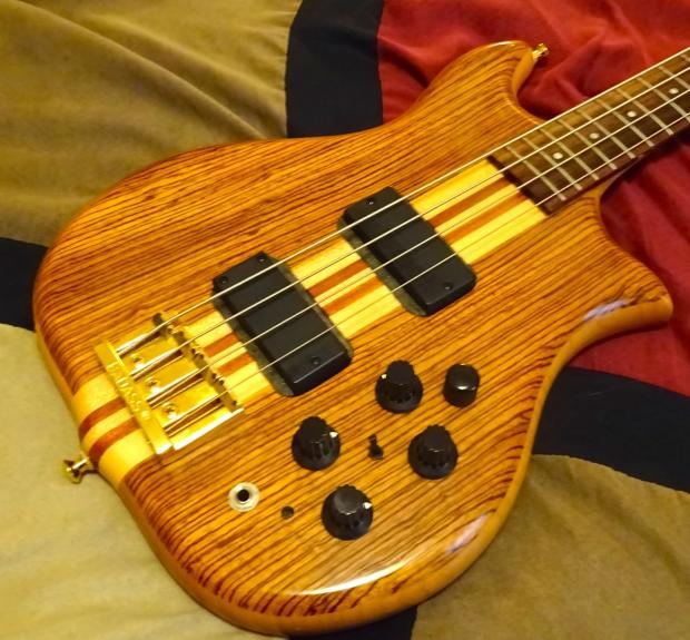 1980 39 s kawai fiib bass guitar made in japan alembic inspired bartolini and original pups incl. Black Bedroom Furniture Sets. Home Design Ideas