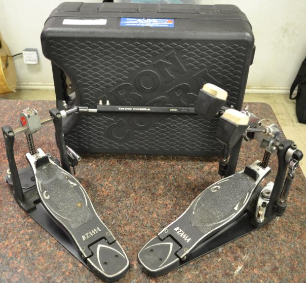 tama iron cobra p900 double bass drum pedal with case reverb. Black Bedroom Furniture Sets. Home Design Ideas